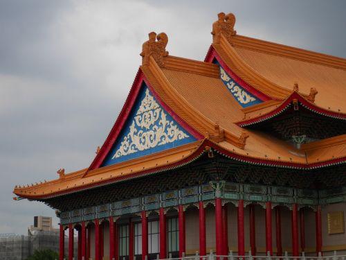 taipei roof traditional