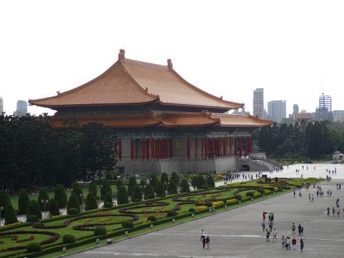 taipei taiwan chinese building