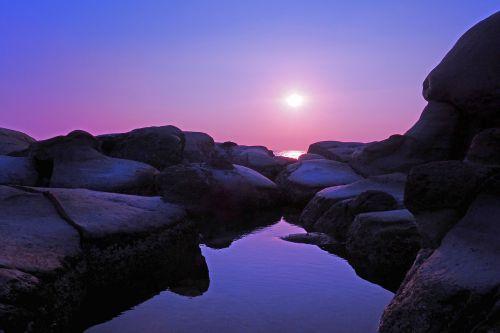 taiwan keelung sunrise