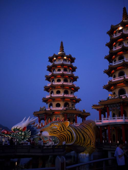 taiwan takao art of fighting tower