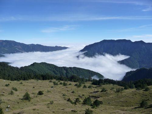 taiwan mt clouds