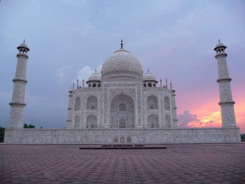 Taj Mahal,Indija,saulėlydis