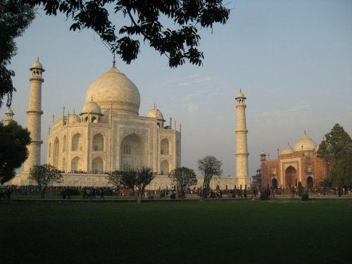 taj mahal india tomb