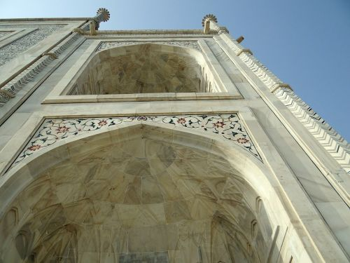 taj mahal arch architecture