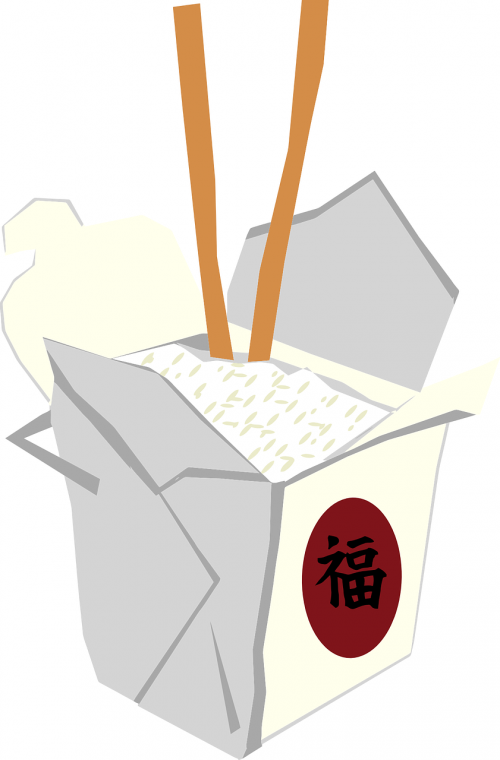 takeaway chinese container