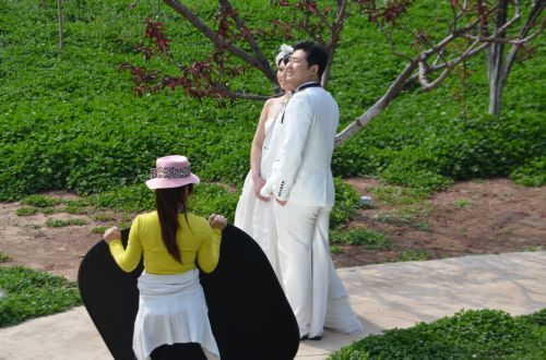 Taking Wedding Pictures