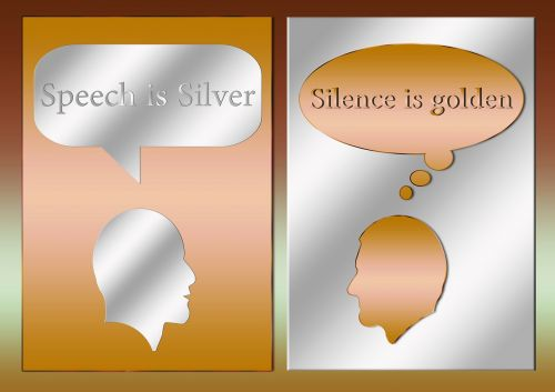 talk language silence