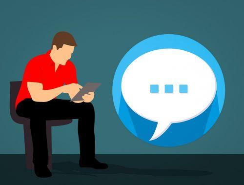 talk chat texting