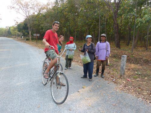 Talk With Native Of Thai Village
