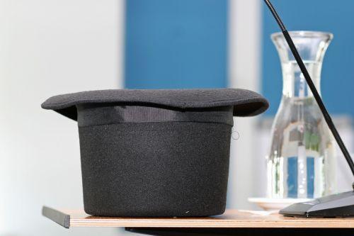 tall hat hat black hat