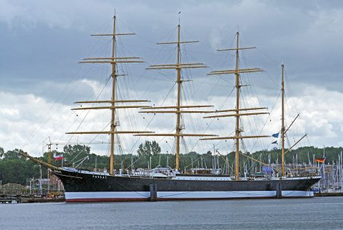 tall ship the four-masted barque passat