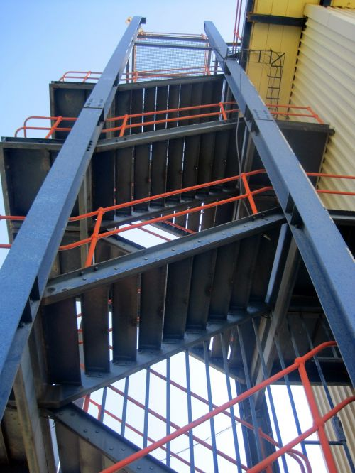 Tall Staircase