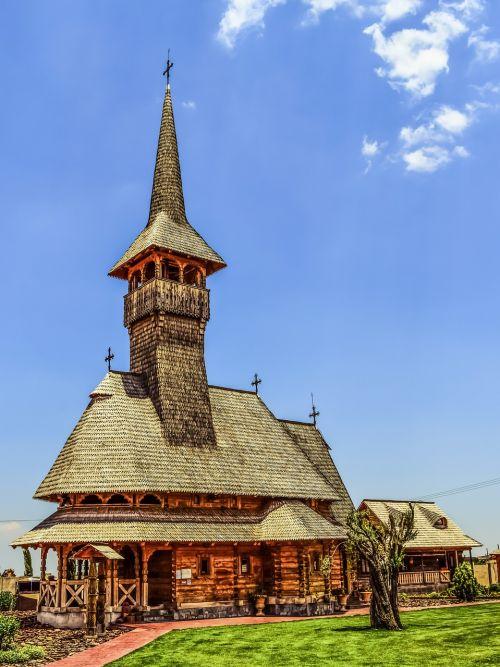 tamassos bishop romanian church wooden