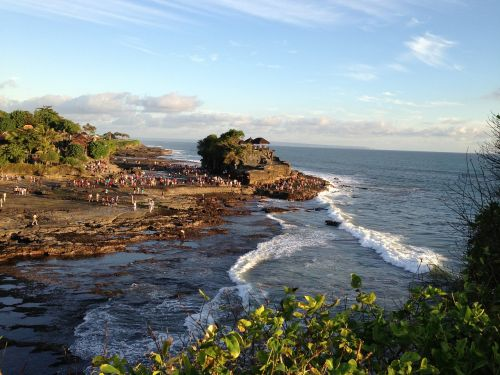 tanah lot,bali,ocean,nature,coast