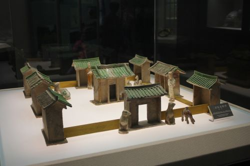 tang dynasty china xi'an
