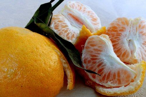 tangerine  fruit  vitamin c