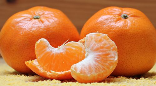 tangerines citrus fruit