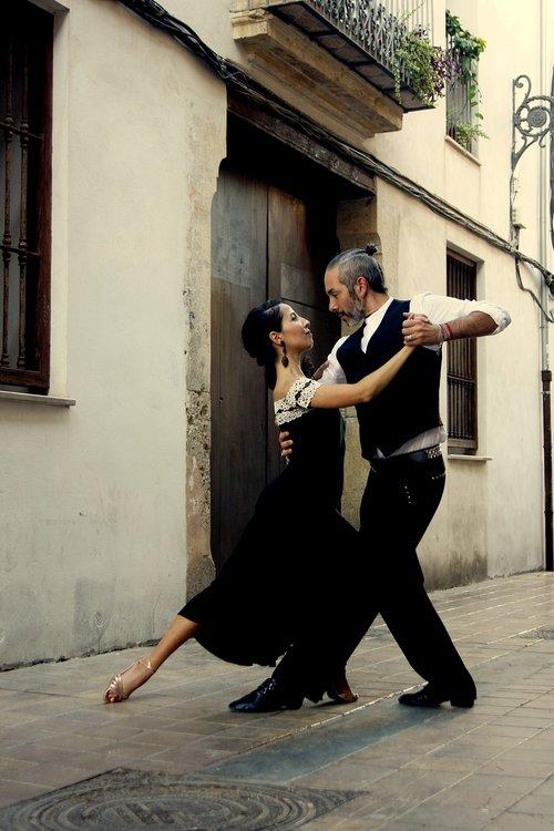 tango  couple  dancer