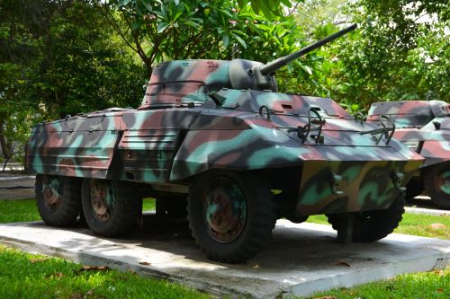 tank armored car military