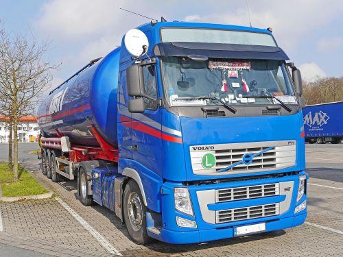 tank truck truck tractor