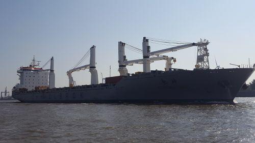 tanker ship elbe