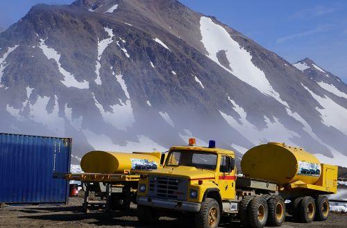 tanker truck greenland
