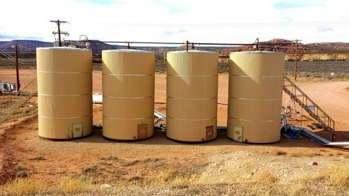 tanks industry refinery