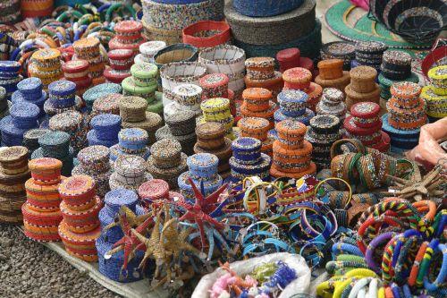 tanzania open market baskets