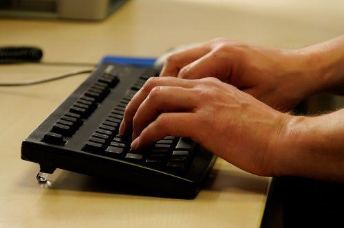 tap office keyboard