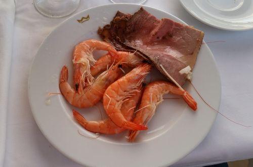 tapas shrimp roast beef