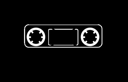 tape music cassette