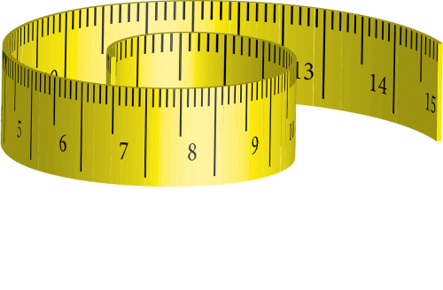 tape measure measure yellow