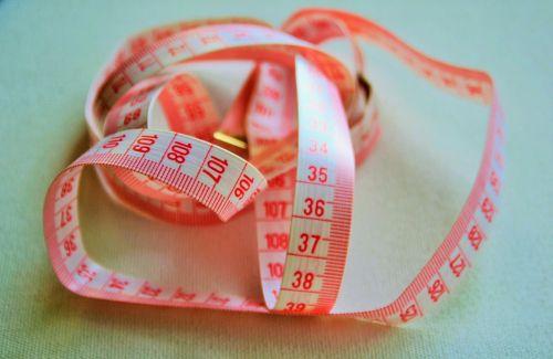 tape measure tape white