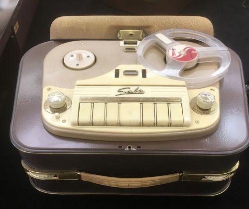 tape recorder saba nostalgia