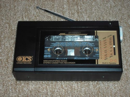tape recorder electrically electronic