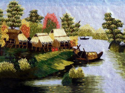 tapestry landscape viet nam
