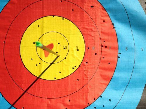 target archery arrow