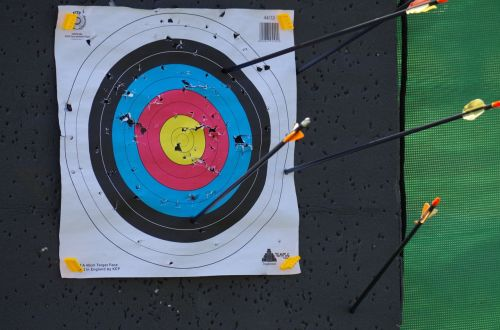 target holes bow