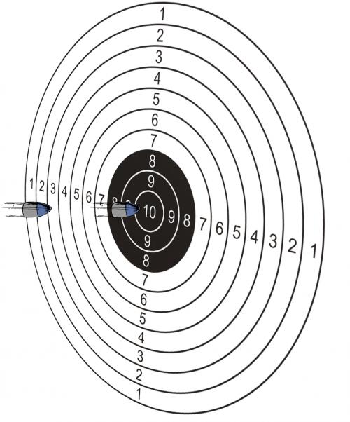 target bullets shoot