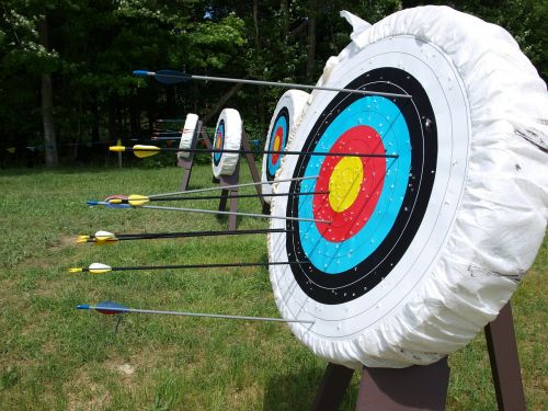 target aim arrows