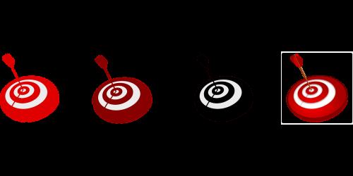 target sight arrow
