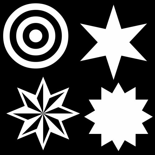 Target And 3 Stars