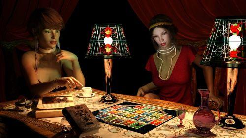 tarot fortune teller coffee