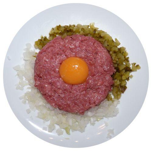 tartare steak raw meat minced beef steak