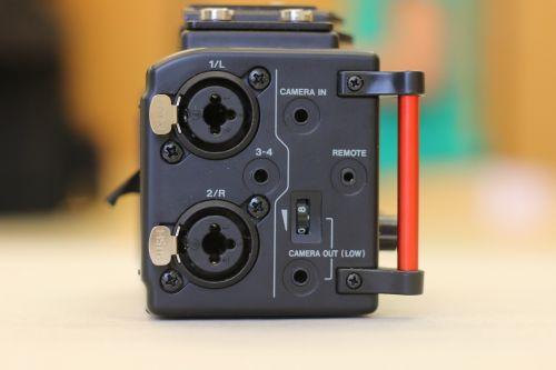 tascam dr-60d audio recorder sound