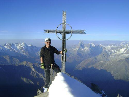 täschhorn valais high-altitude mountain tour