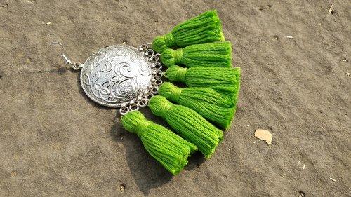 tassels  tassel earring  jewelry