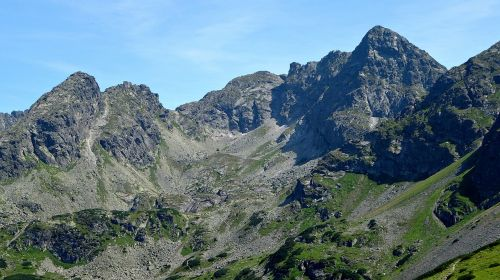 tatry mountains the high tatras