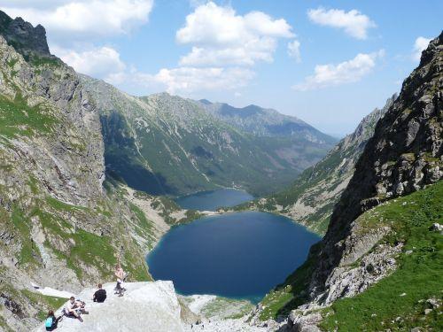 tatry lake mountains