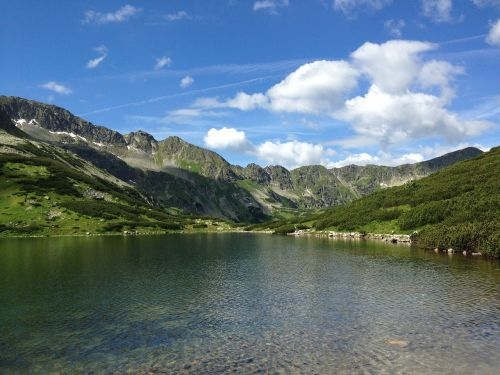 tatry mountains valley of five ponds